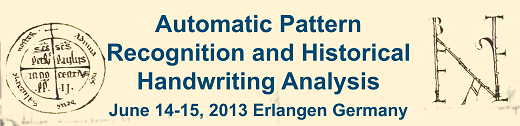 20. International Workshop on Automatic Pattern Recognition and Historical Handwriting Analysis