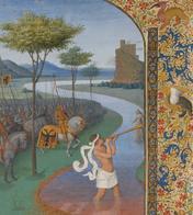 Exposition: Enluminures du Moyen age et de la Renaissance. Paris, Musée du Louvre, du 07-07-2011 au 10-10-2011